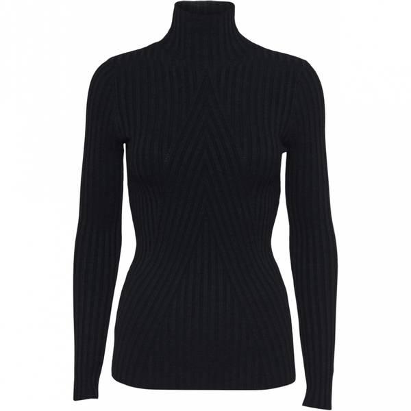 Bilde av Norr - Chelsea LS knit top svart