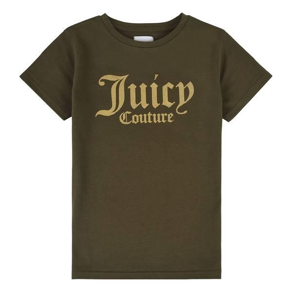 Bilde av Juicy Couture - T-skjorte Olive Night Gull Logo