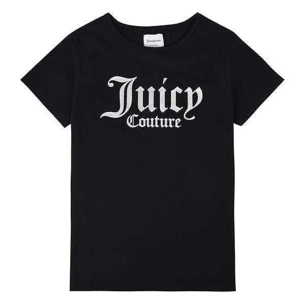 Bilde av Juicy Couture - T-skjorte Jet Black Logo