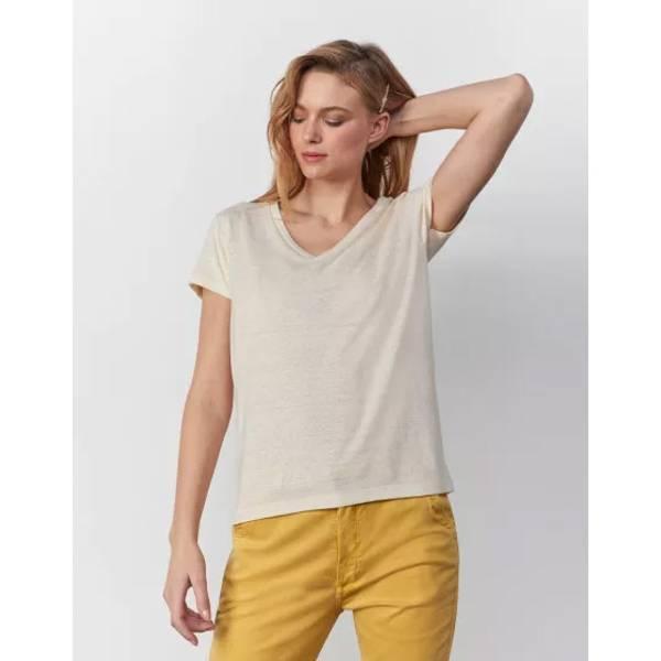 Bilde av Reiko - Taco T-skjorte Buttercream